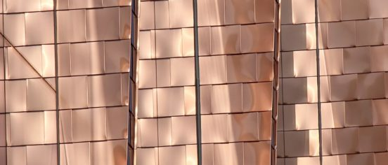 brown copper tiles